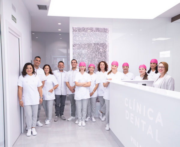 Equipo de la Clínica Dental Villava